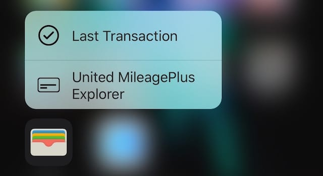 Apple Pay Quick Action