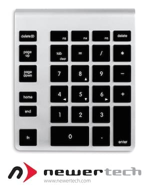 Software Lets You Customize Your NewerTech Numeric Keypad