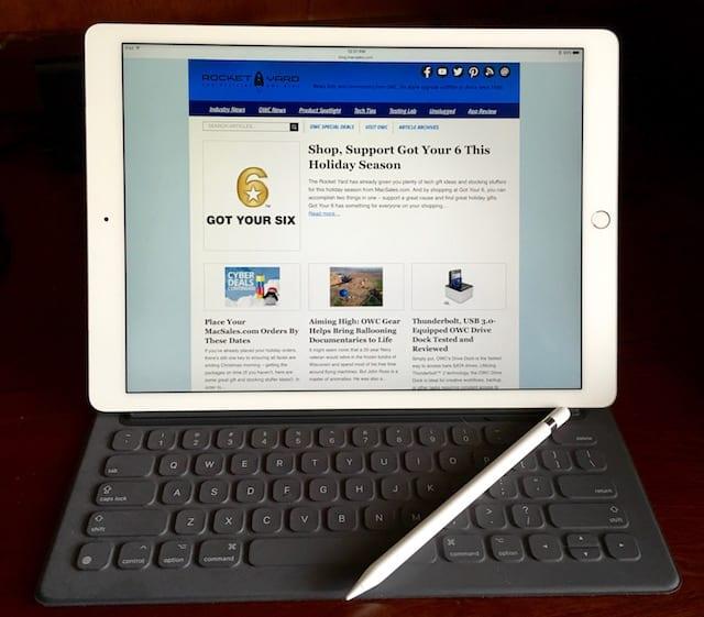 Apple Smart Keyboard and iPad Pro