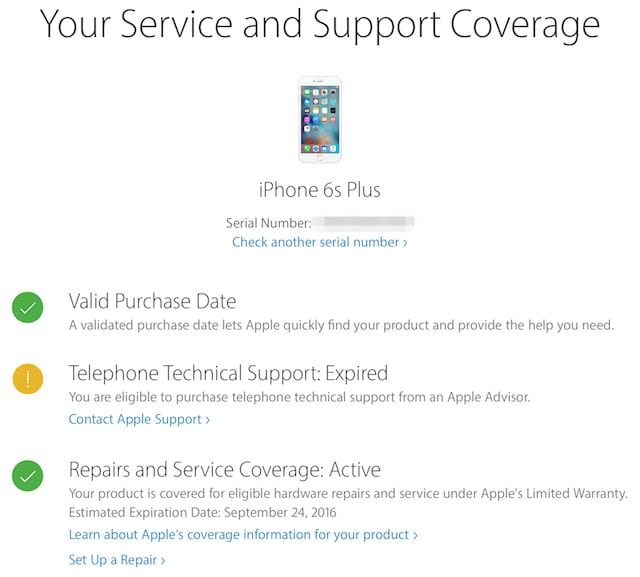 Service and Support Coverage
