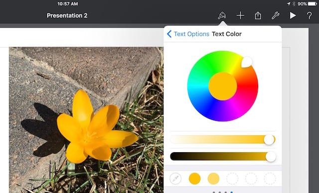 iOS Color Picker