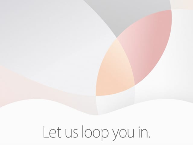 March 21 2016 Apple Event Invitation