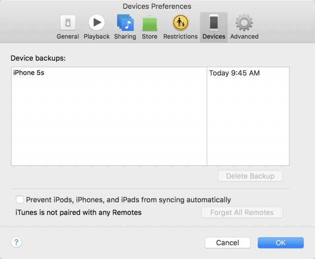 Making sure a backup is completed