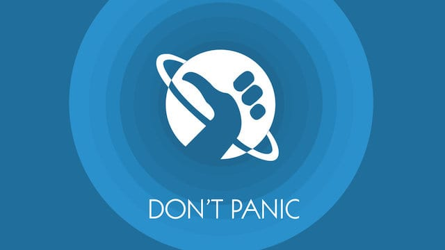Hitchhiker's Guide to the Galaxy Wallpaper by Van Taj.