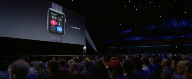 Control Center for Apple Watch