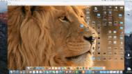 A shared screen appearing on a Mac screen