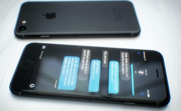 Black iPhone rendering by Martin Hajek.