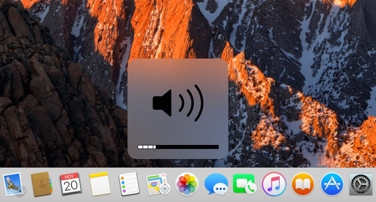 (Precision control of the Mac's volume is possible with a simple keyboard command to force volume adjustments in quarter-step increments.)
