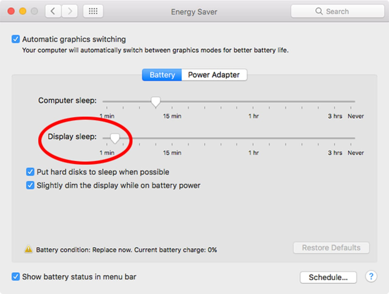 (Don't set your Mac to sleep too soon. You may find it's entering sleep while you're still actively working.)