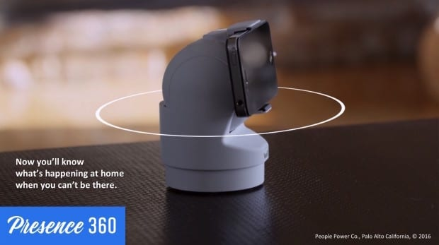 Presence 360 robotic iPhone mount