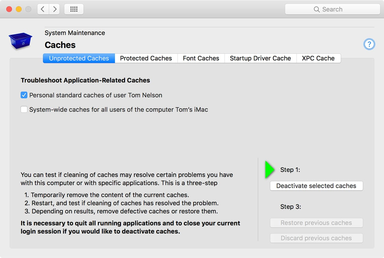 How Clear Cache & Temp Files from a Mac