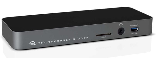 OWC Announces Thunderbolt 3 Dock for Windows and Mac ...