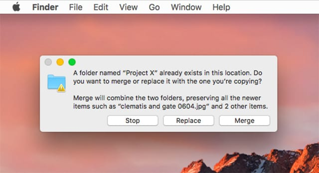 The Many Ways to Merge Folders on the Mac