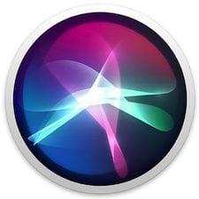 macOS High Sierra Siri icon