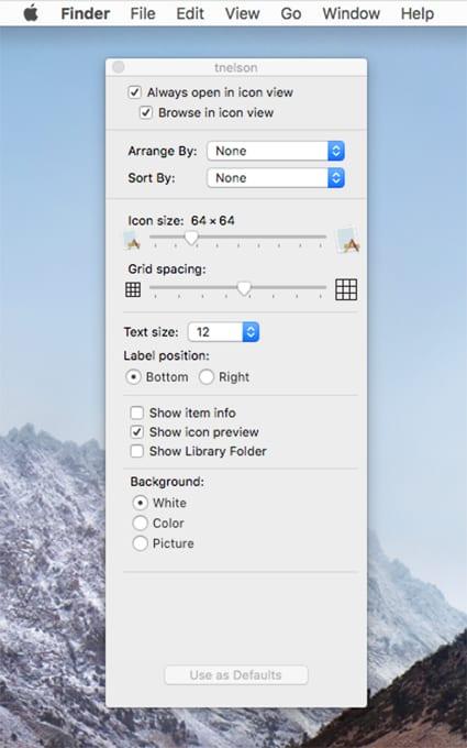 Mac 101: Customizing Finder Views Part 1: Icon & List Views
