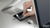 """A RAM Install on a 27-inch iMac through the """"back door"""""""