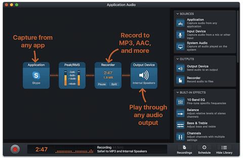 Audio Hijack (image via Rogue Amoeba)
