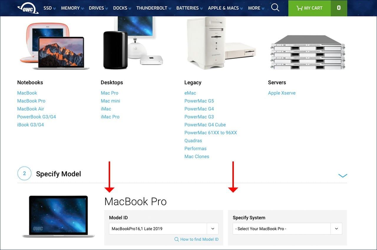 macsales.com screenshot