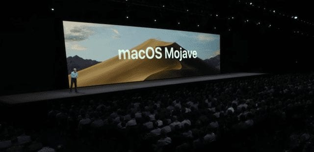 Apple's Craig Federighi announces macOS Mojave