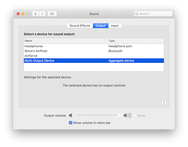 Select the Multi-Output Device in the Sound preferences to send output to both headphones