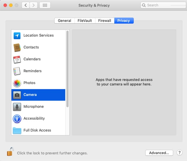 A Guide to Mojave Security and Privacy Protection