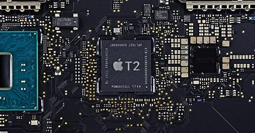 Apple's T2 Security Chip. Image via WikiBlog.info