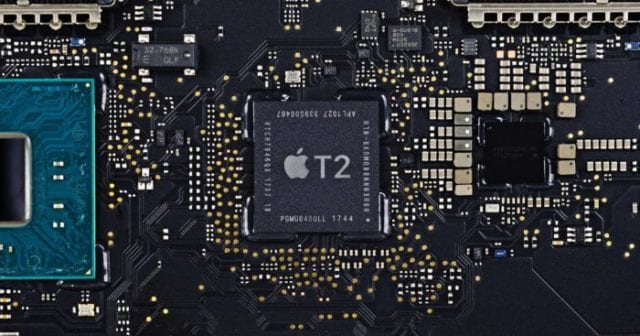 (Apple's T2 Security Chip. Image via WikiBlog.info)