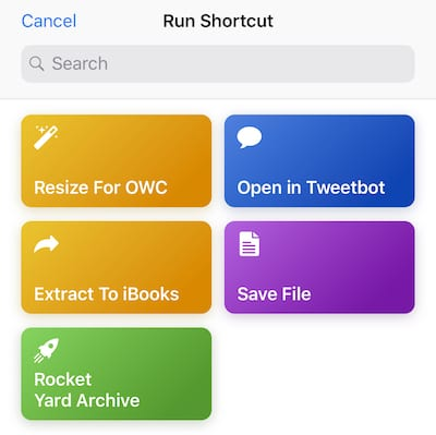 The iOS 12 Shortcuts App Part 3: Creating and Using Simple Shortcuts