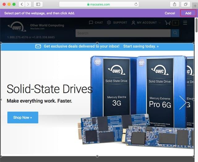 Use Safari to create a Dashboard web clipping widget