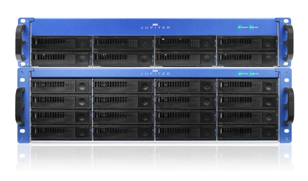 (OWC Jupiter Callisto Ethernet Connected Shared Storage Server)