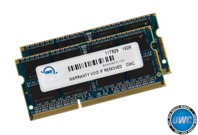 A 32.0GB OWC Memory Upgrade Kit for the late 2015 iMac