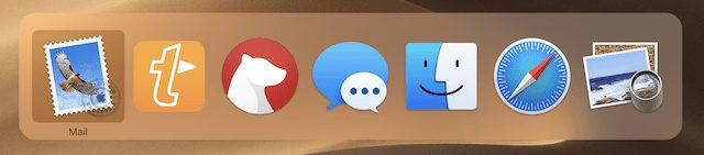 (The macOS App Switcher)