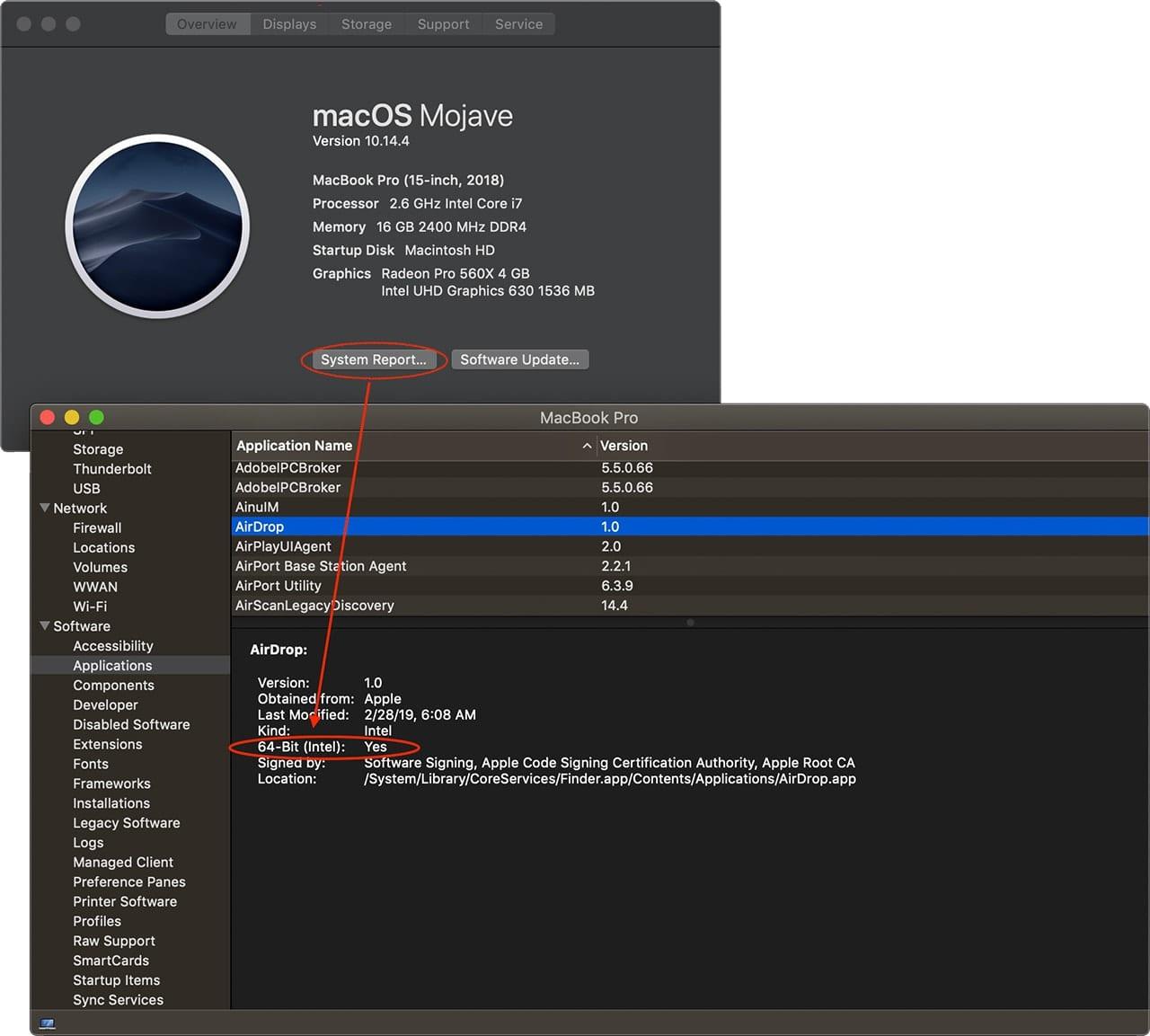 System Info Bit Checker