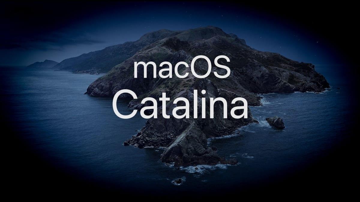 A First Look at macOS Catalina