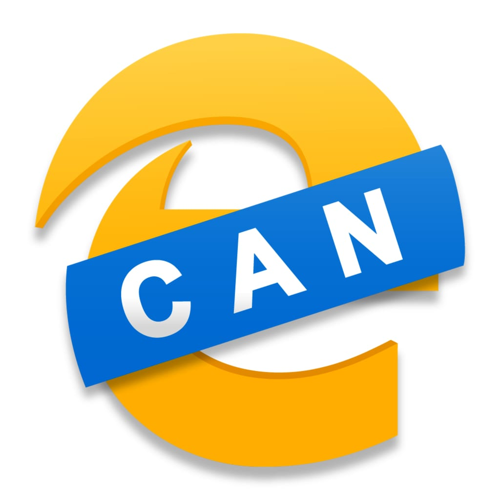 Icon for Microsoft Edge Browser Canary edition.