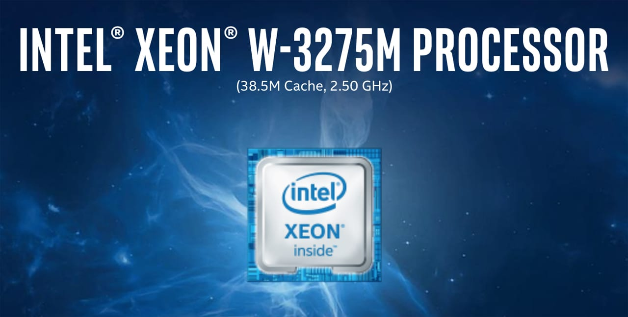 Intel Xeon W-3275M processor