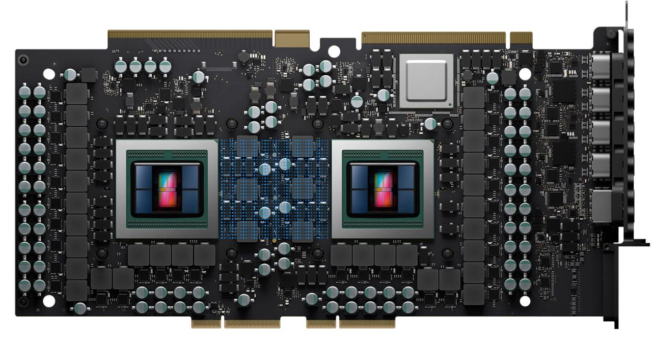 AMD Radeon Pro Vega II Duo graphic card.