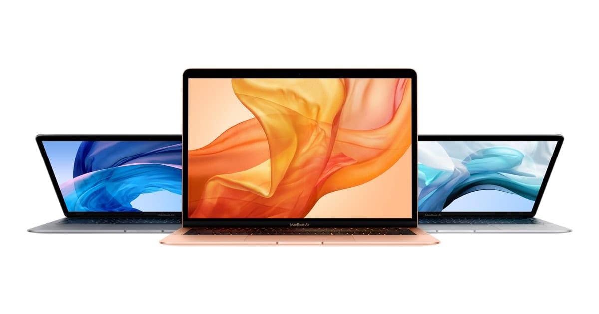 Apple's line of Mac Laptops