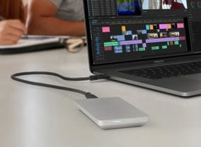 The sleek and fast OWC Envoy Pro EX is a perfect MacBook companion