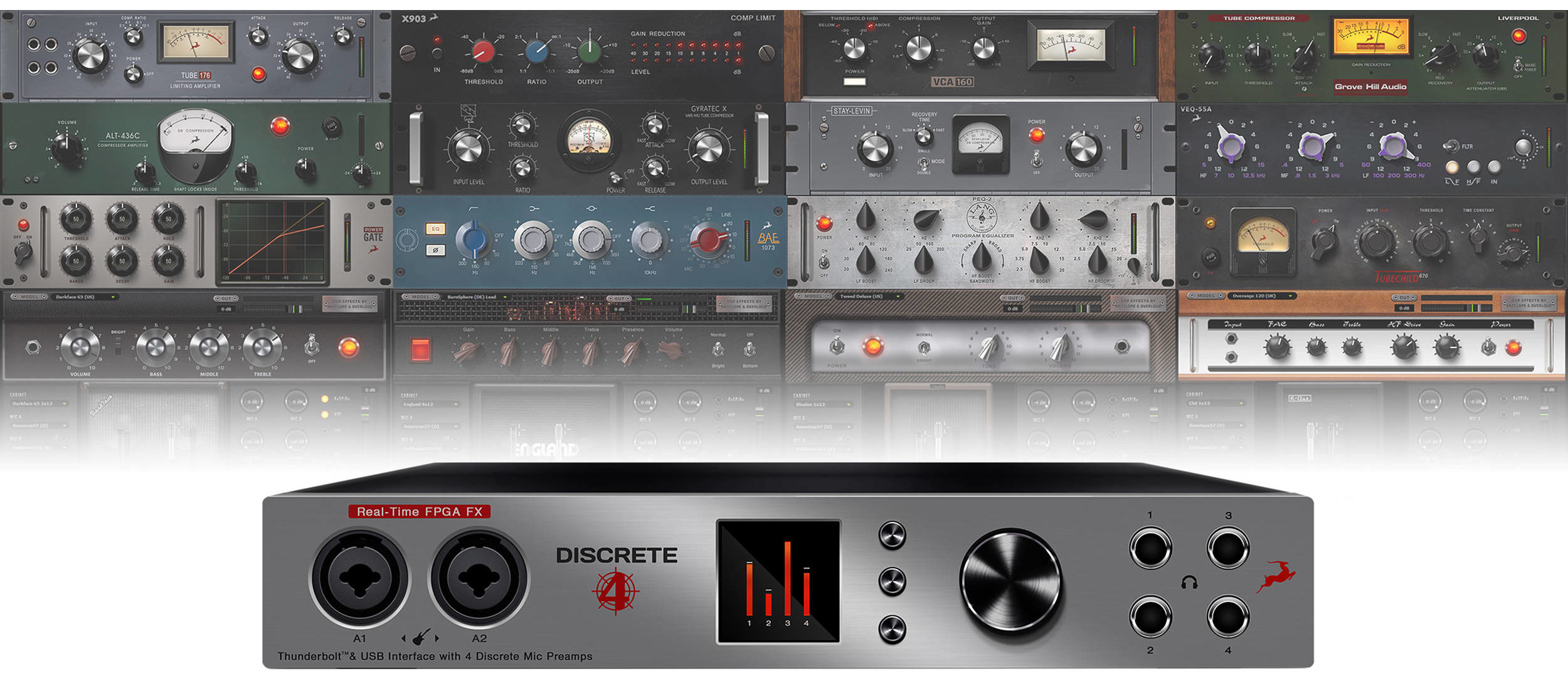 Antelope Audio Discrete 4 Audio Interface