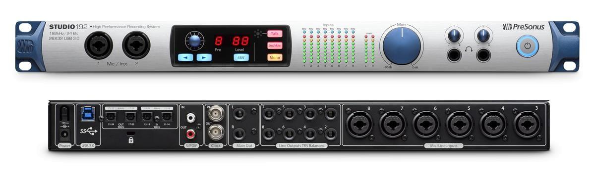 PreSonus Studio 192 USB Audio Interface