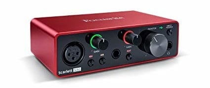 Focusrite Scarlett Solo 3rd Gen Audio Interface