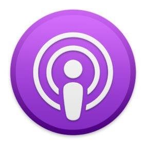 Podcasts app icon.