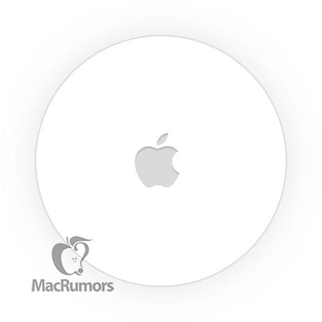 An image purported to be of an Apple Tag of some sort, via MacRumors.com