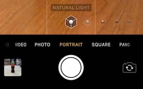 Portrait Mode in the Camera app