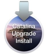Upgrade Install macOS Catalina