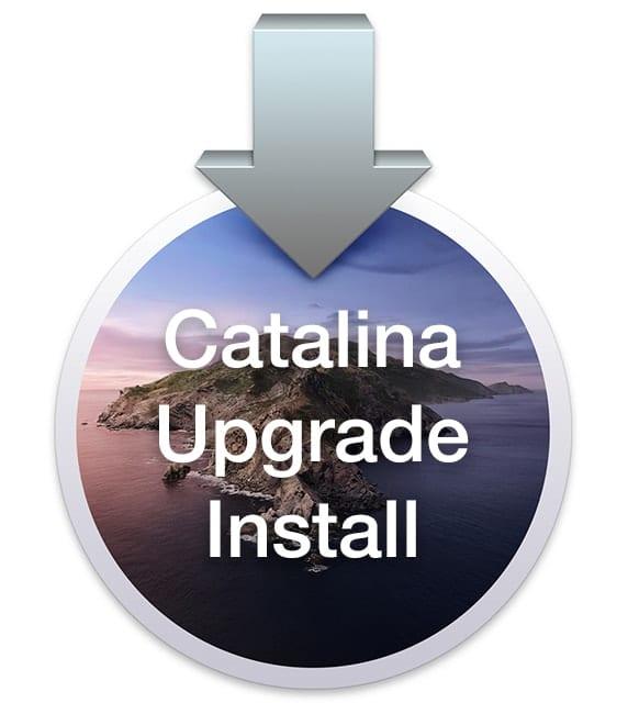 Upgrade Install macOS Catalina