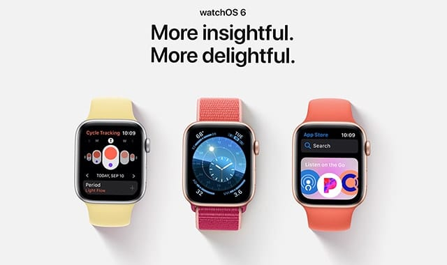 The Best New Features of watchOS 6