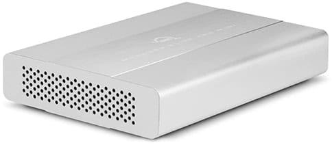 OWC Mercury Elite Mini storage system.