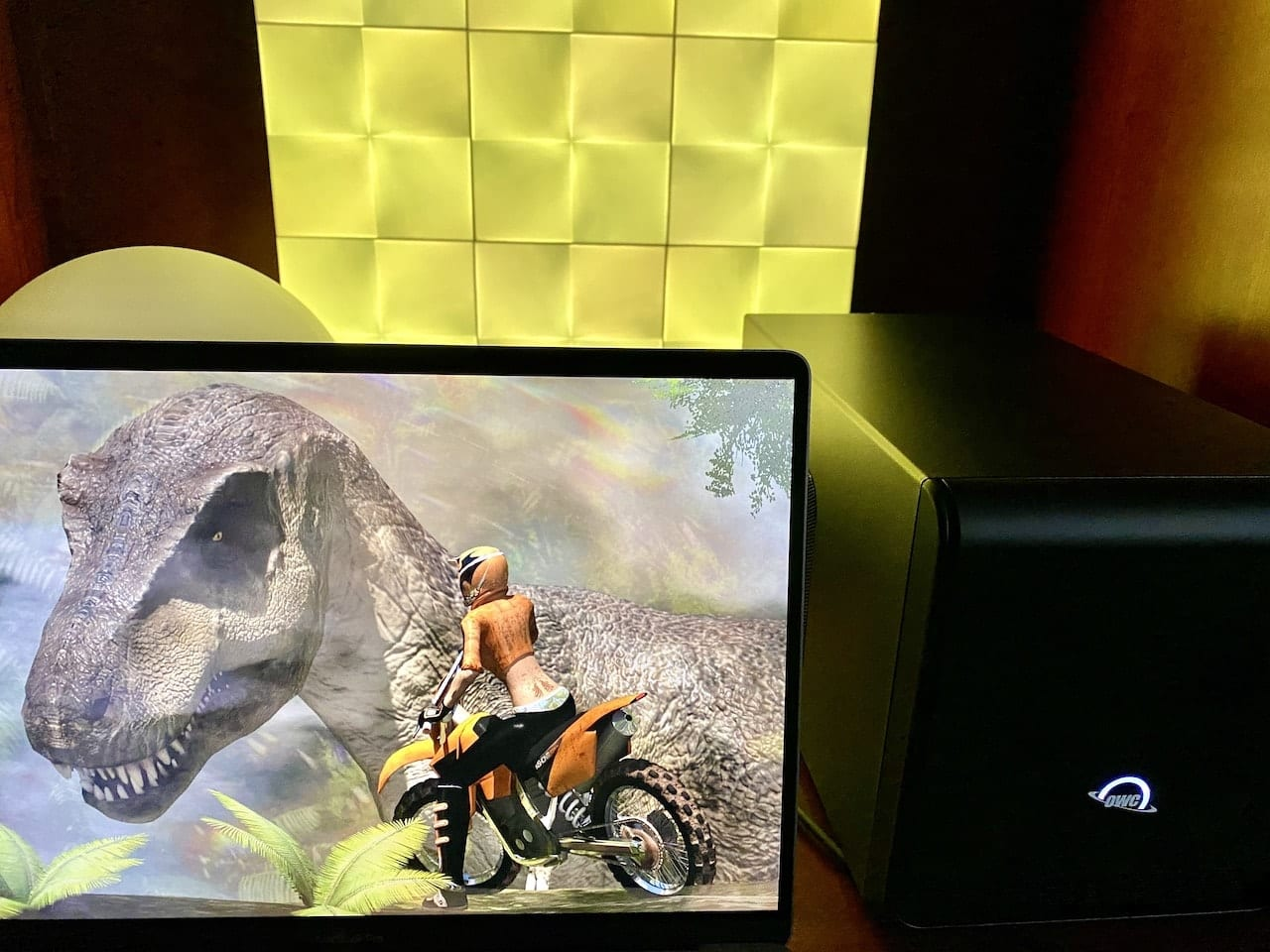 Gaming is a common use case for an eGPU